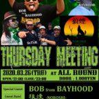 3 / 26 (木) Thursday Meeting @横須賀 ALL ROUND